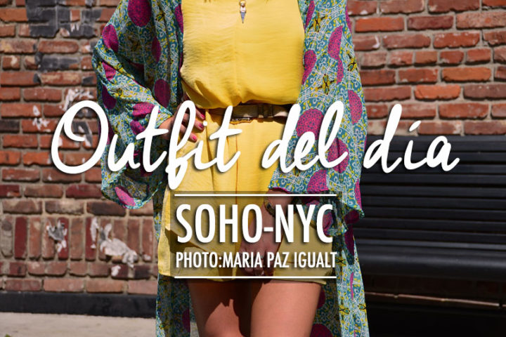 Outfit Del Día- Soho New York City