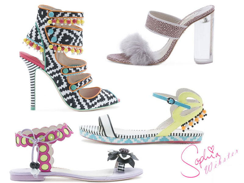 Sophia Webster Spring Summer Shoes 2015