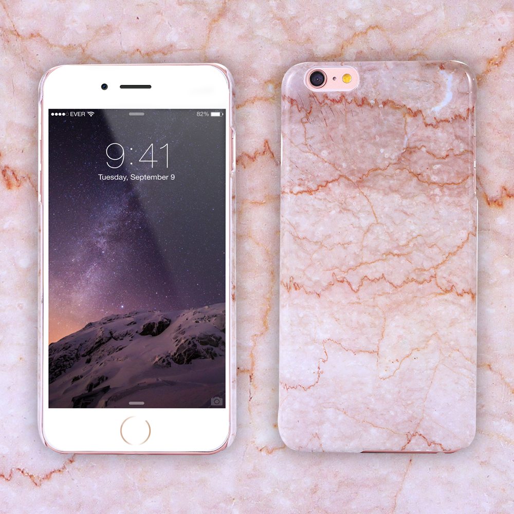 For IPhone 6 Plus Luxury Font B Marble B Font Case Ultra Thin Hard Back Phone