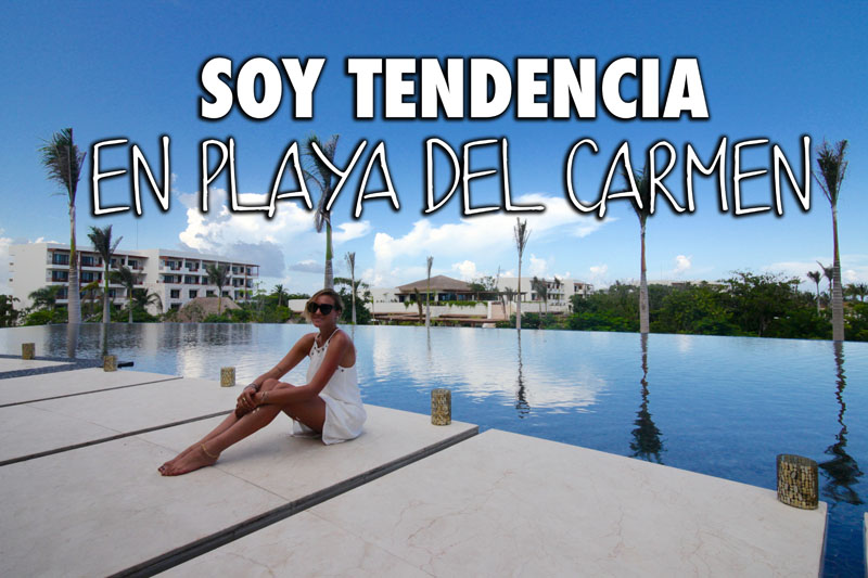 VIDEO – Soy Tendencia En Playa Del Carmen