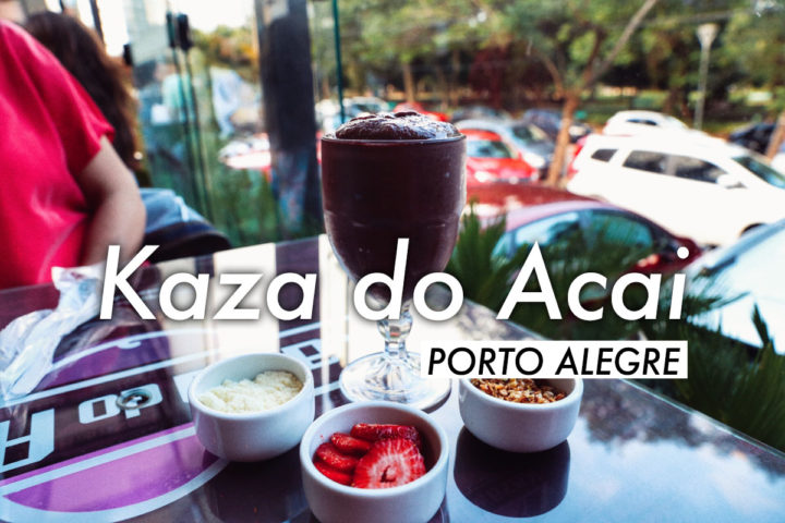 Bowl De Açai En La Kaza Do Açai